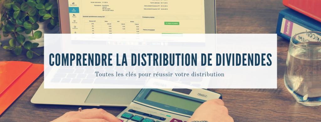 distribution de dividendes